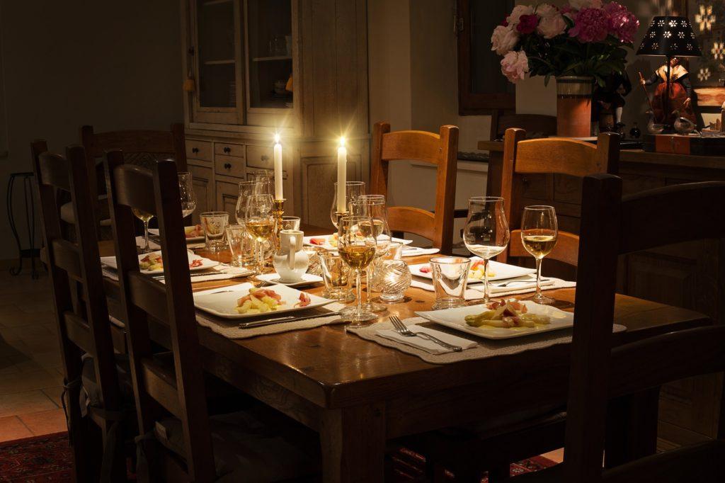 unique dining set