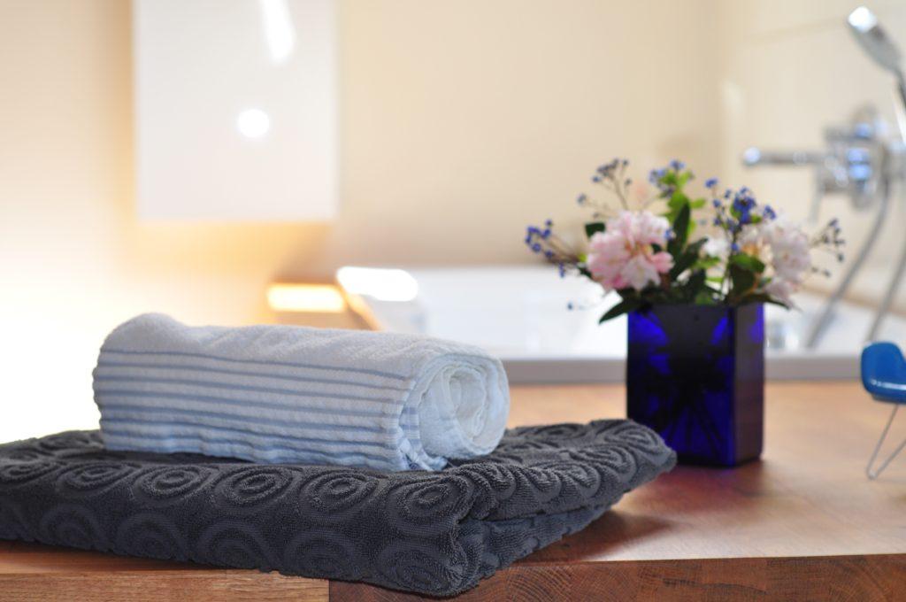 flowers, bathtub, spa, tub, interior