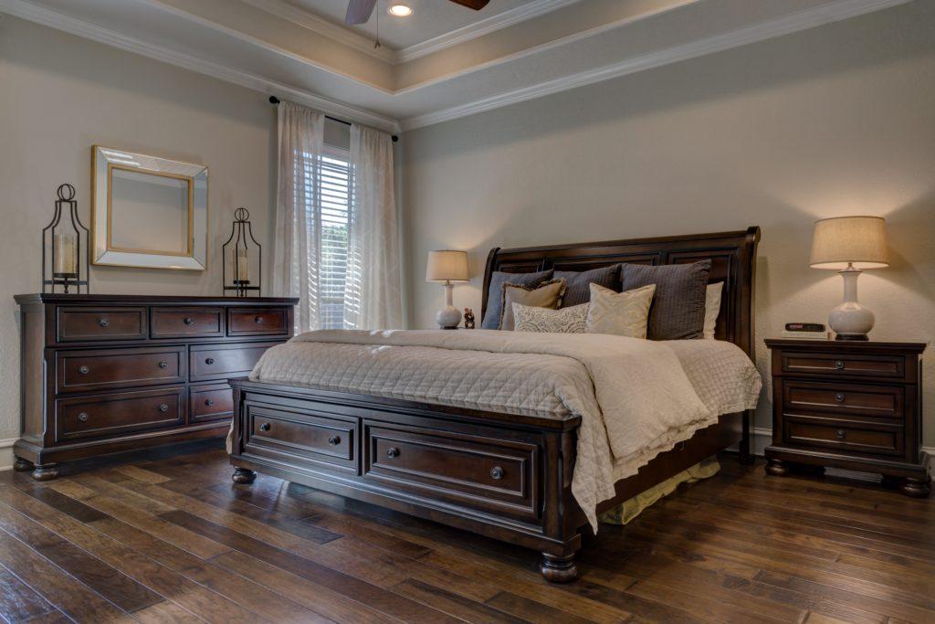 bedroom, comfort, luxury