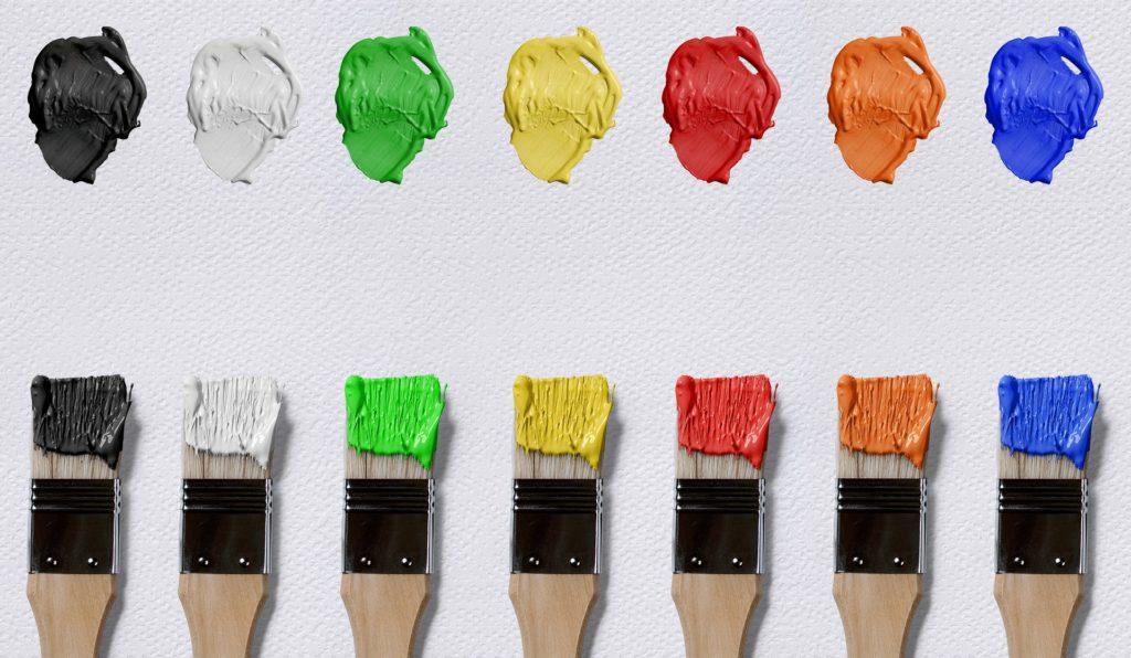 Vivid color pallete